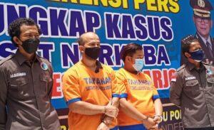 Kedua Tersangka WNA Asal Palestina & Warga Ujung Pandang Sulawesi