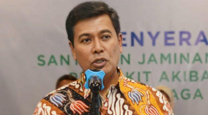 Direktur Utama BPJAMSOSTEK Anggoro Eko Cahyo